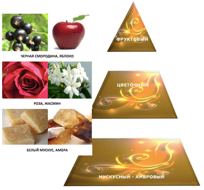 Состав ароматов женских духов Rose De Damas от Patrice Martin